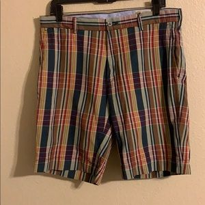 Men's Polo Ralph Lauren madras plaid shorts 32